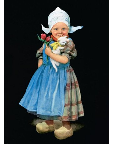 Little Dutch Girl Magnet