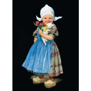 Little Dutch Girl, Magnet 80335