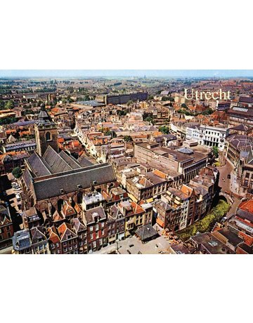 Sky View of Utrecht, 1960s Magnet