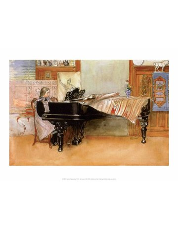Catch Publishing Carl Larsson, Playing the Piano