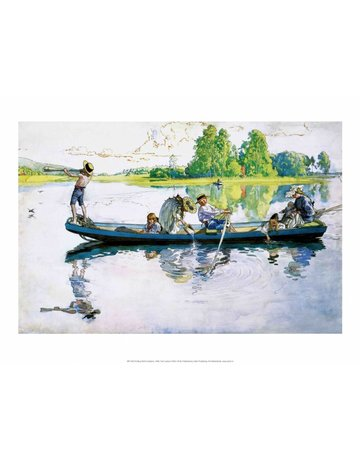 Catch Publishing Carl Larsson, Viking Raid in Dalarna, 1900