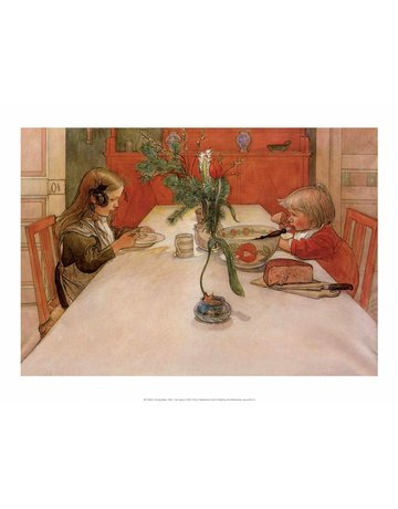 Catch Publishing Carl Larsson, Evening Meal, 1905