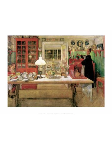 Catch Publishing Carl Larsson,  For a Little Card Party, 1901