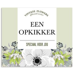 Vintage Flower Cards Een opkikker speciaal voor jou