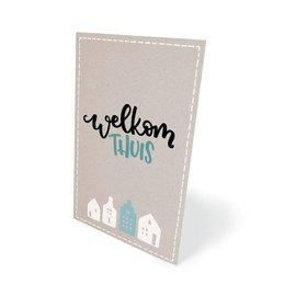 wenskaarten Welkom thuis