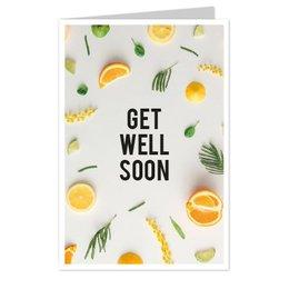 wenskaarten Get well soon