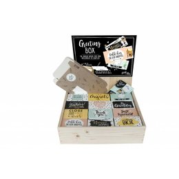 Greeting Box houten display - Vulling A