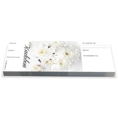 Cheque Kadobonnen - White Chrysant