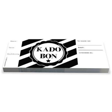 Cheque Kadobonnen - Strongly Black