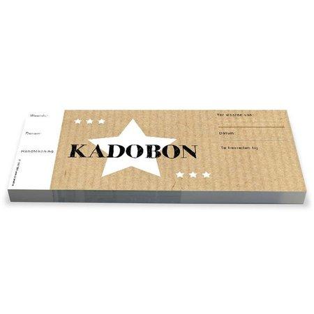 Cheque Kadobonnen - Handcraft star