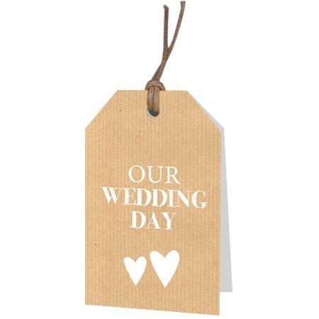 Bloemen- & Kadokaartjes Part30 - Our wedding day
