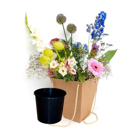 Flowerbag - mogelijkheid tot personaliseren