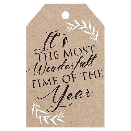 Label - it's the most wonderfull time of the year