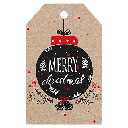 Label - Merry Christmas