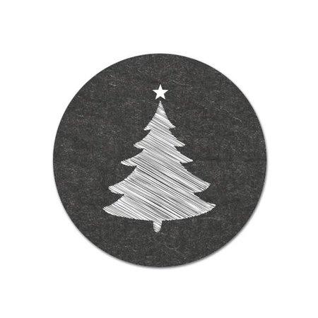 Kerst stickers - Kerstboompje