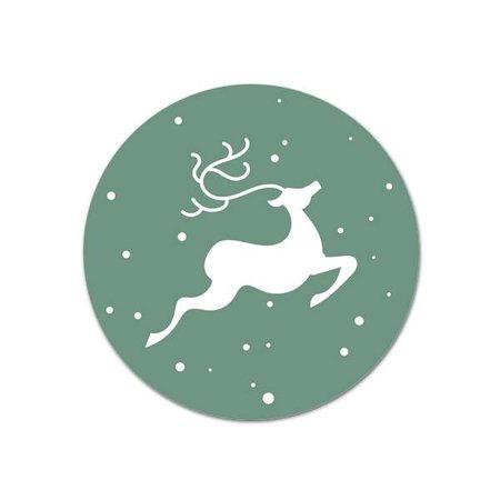 Kerst stickers - Reindeer