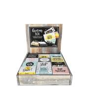 Limited Edition Greeting Box display