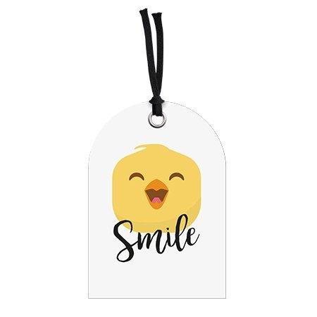 Wenskaart Macho - Smile