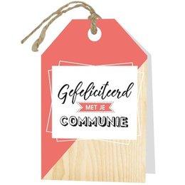 Gelegenheden Gefeliciteerd met je communie