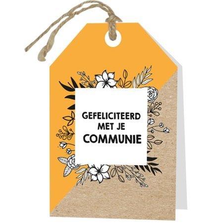 Gelegenheden Wenskaarten - Gefeliciteerd met je communie
