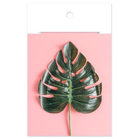 Floriske - Pink Leaf