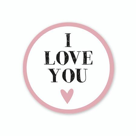I love you Etiket