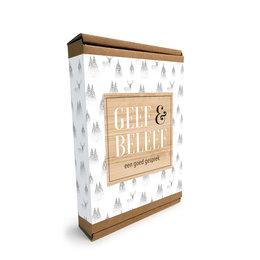 Geef & Beleef doosje