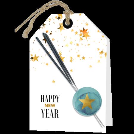 Nieuwjaar Wenskaart + Applicatie  - Happy New Year