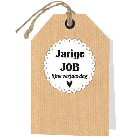 Wenskaarten Rebel30 - Jarige job