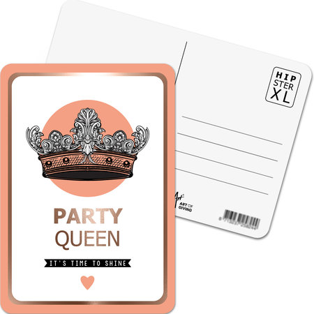 Party Queen - It's time to shine - Hipster XL