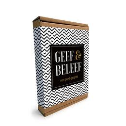Geef & Beleef - Een goed gesprek