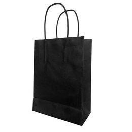 Present Kadotasje - Kraft zwart- 10 stuks