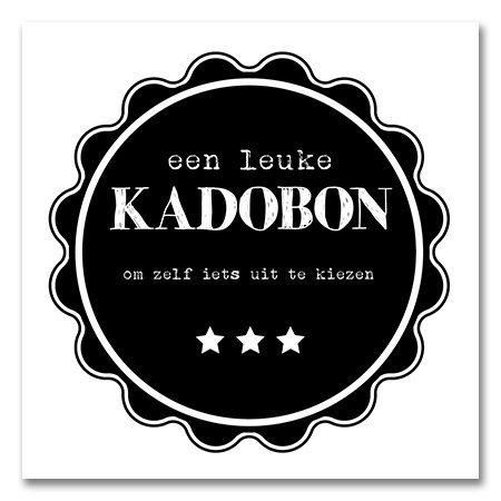 Present Present Kadobonnen - Black Pie