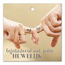 Gefeliciteerd met jullie huwelijk