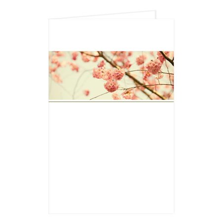 Emotions Emotions groot formaat - Cherry blossom - Blanco