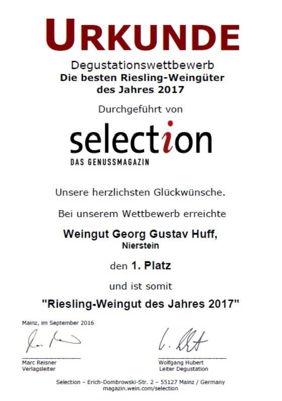 Weingut Georg Gustav Huff Riesling Trocken Roter Hang 2019