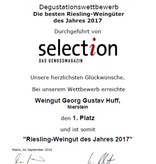 Weingut Georg Gustav Huff Riesling Pettenthal 2018