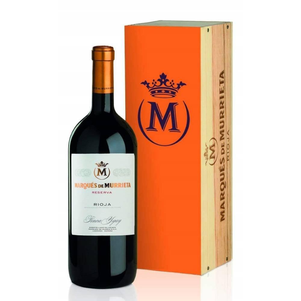 Marqués de Murrieta Tinto Reserva 2014 - 3 liter in houten kist