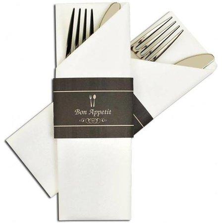 """Napkin Sleeve """"Bon Appétit"""""""