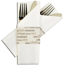 "Napkin Sleeve ""All about food"" 325 Stück"