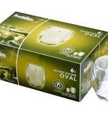 Bolsius Professional Refillhouder Oval Transparant