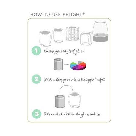 Bolsius Professional Refill ReLight Transparent (100 stück)