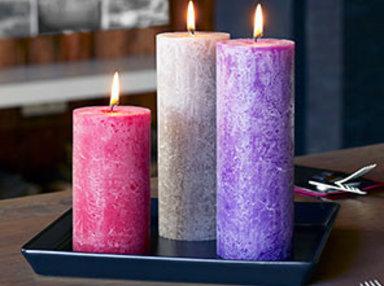 Rustik Kerzen