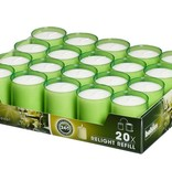 Bolsius Professional Refills Relight Lime-groen (80 stuks)