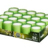 Bolsius Professional Relight Refills Lemon (80 stück)