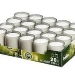 Bolsius Professional Refills Relight Grijs (80 stuks)