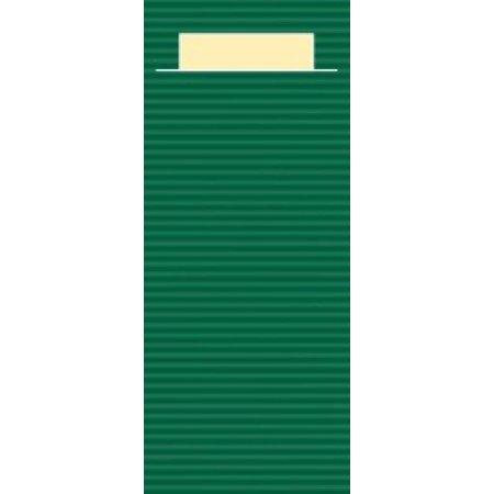 """EUROPOCHETTE® Bestekzakjes """"Kraft"""" Groen 600 stuks"""