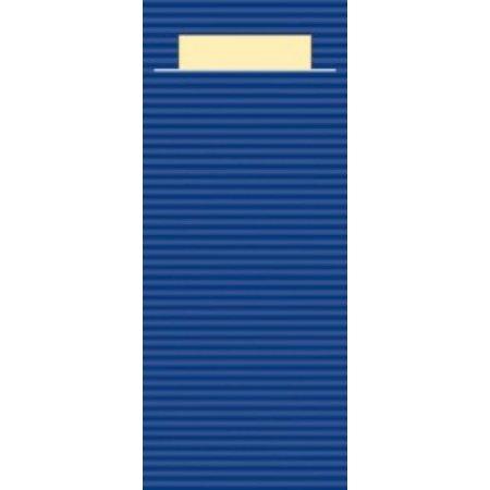 "EUROPOCHETTE® Bestekzakjes ""Kraft"" Blauw 600 stuks"