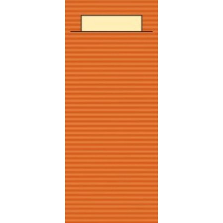 """EUROPOCHETTE® Bestecktaschen """"Kraft"""" Terrakotta, 600 Stück"""