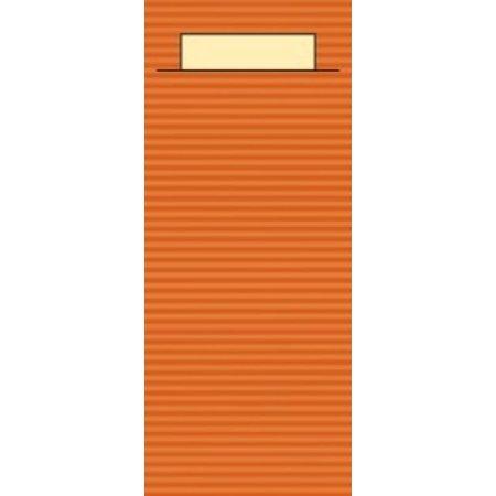 "EUROPOCHETTE® Bestekzakjes ""Kraft"" Terracotta 600 stuks"